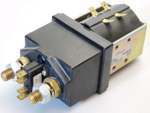 Relay contactor Albright Type SW200A-753   400A  coil 54Vdc