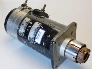 Motore corrente continua 14Vcc  135A  1,5HP Motor D.C. Airesearch 48364-1-3