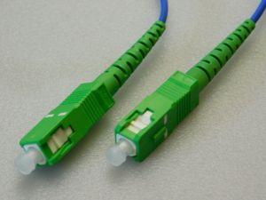 Patchcord fiber optic SC/APC-SC/APC, SM 9/125 LSZH  ( m.7)