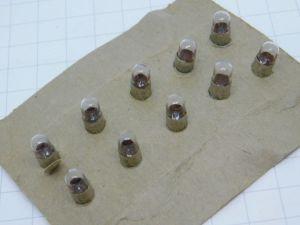 Bulb No.331  1,35Volt  midget T1  3/4  (n.10pcs.)