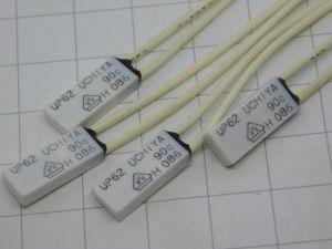 Termostato fusibile termico UCHIYA UP62 90° (n.4 pezzi)