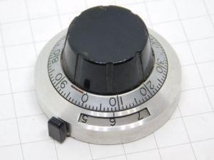 Manopola DUODIAL per potenziometro Helipot multigiri