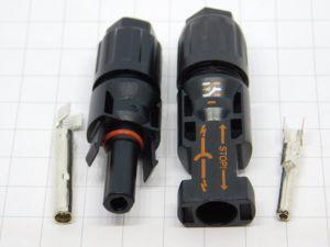 Coppia connettore MC4 maschio/femmina  per pannello solare