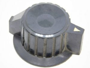 Manopola nera per strumenti USA vintage mm. 60x26