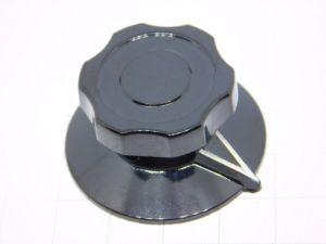 Knob black Stockli for vintage military radio mm. 38x19