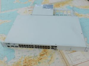 Alcatel Omni Switch 6850-24X  10/100/1000 Mbit  with power supply and rackmount