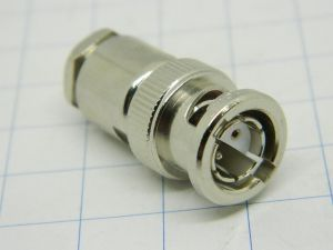 Connector  BNC twinax BR2 plug  2pin polarized male, Amphenol 554-93/2815