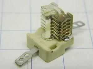 Condensatore variabile in aria ceramico trimmer Tronser 10-1105-25013  2-13pF