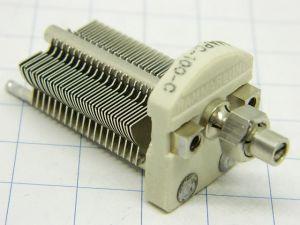 Air variable capacitor  4,5-100pF HAMMARLUND MAPC-100-6