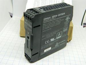 Alimentatore 24Vcc 0,65A 15W OMRON S8VK-G01524  barra DIN