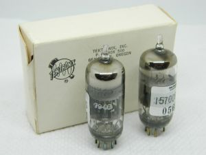 8136  G.E. selected pair for Tektronix , valvola tube