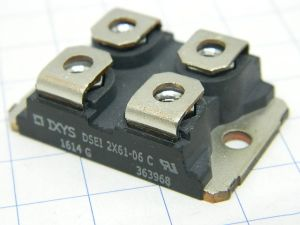 DSEI 2x61-06 C  IXIS fast recovery epitaxial diode 2x60A 600V