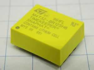 M4T32-BR12SH6  STM Timekeeper Snaphat batteria/cristallo per NVRAM