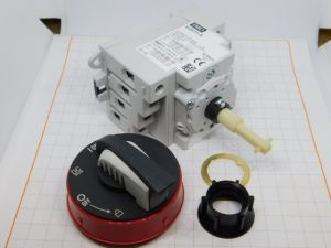 Circuit breaker IMO SI25-P1-S 1500Vdc 25A 4poles  for solar panel, with knob.