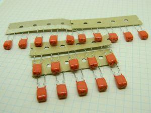 1uF 63V condensatore MKT metallized  polyester film  (n.20 pezzi)