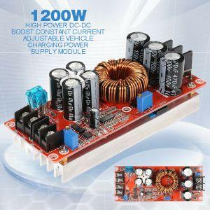 DC-DC converter 1200W regolabile 0-60Vin. 12-80Vout. , alimentatore,  regolatore pannello solare