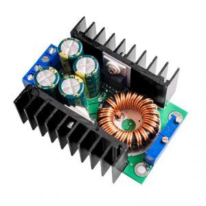 DC-DC converter 300W regolabile 6-40Vin. 2-36Vout. , alimentatore,  regolatore pannello solare
