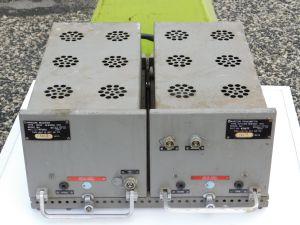 Marconi radio type H16, receiver RP47 + transmitter TPV.401 , 10W  VHF , vintage tube