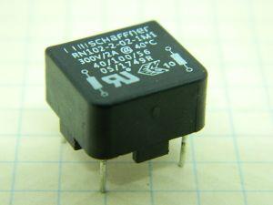 Filtro rete SCHAFFNER RM102-2-02-1M1,  2A 250Vac 50/60Hz,  montaggio da circuito stampato
