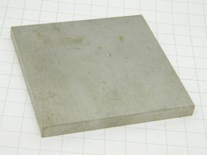 Piastra lamiera in Titanio B265 Gr.1  mm.78x78x7  peso gr.160