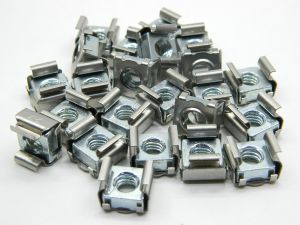 Caged nut M6 (n.24pcs.)
