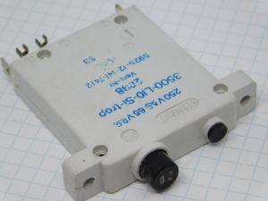 ETA3500 interruttore termico ripristinabile 0,2A 250Vac