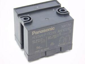 Panasonic relay HEV1aN--DC24V  coil 24Vdc  PCB  20A 1000Vdc  2DPST n.o.