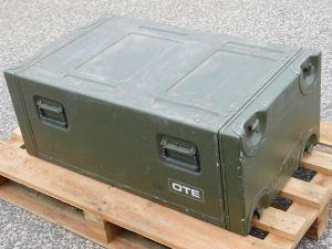 Contenitore stagno in alluminio EDAK rack per strumenti dim. cm. 52x35x91