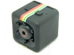 Mini spy camera  fullHD 1080P microSD IR night vision  DVR  motion sensor