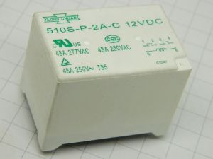 Relè SONG CHUAN 510S-P-2A-C  12Vcc 48A  2 poli