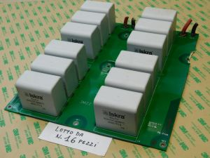40uF 900Vdc capacitor MKP polypropylene ISKRA KNG1914  pcb with 12pcs. (price for n.16 pcb)