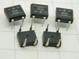 DF08 536H rectifier bridge 800V 1A (n.5pcs.)