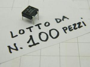 DF08 536H ponte raddrizzatore  800V 1A  (n.100 pezzi)