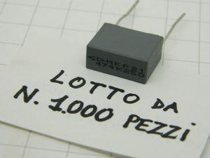 0,47uF 275Vac X2  polipropilene  MKP21474K250  (n.1000 pezzi)