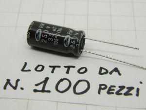 33MF 250Vdc capacitor SAMWHA RM 105°C(M)  (n.100pcs.)