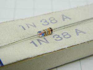 1N38A Germanium diode, vintage