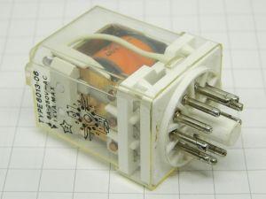 Relè  IMO 6013-06  bobina 48Vcc  3scambi 250Vac 6A  zoccolo undecal