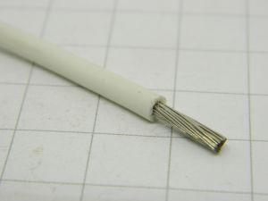 Filo unipolare al silicone bianco 2,5mmq. (quantità m.5)