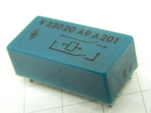 Reed relay 2contacts N.O.  Siemens V23020 A9 A201