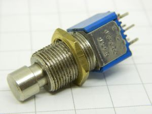 Bistable pushbutton switch 2contacts  N.O.  APEM 2 D0
