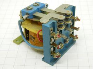 Relè FITRE  24Vcc 2scambi 10A isolamento 1200V per antenne HF  contatti argento