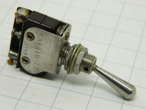 Deviatore interruttore tipo avio Microswitch 6AT319-T2 levetta lunga