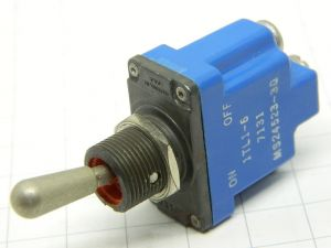 Momentary toggle switch ON-OFF Honeywell 1TL1-6  MS24253-30