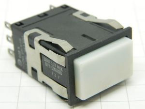 Pulsante avio luminoso bistabile Micro Switch AML-21 series L203  2vie