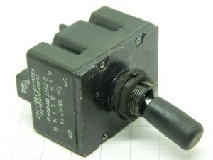 Momentary toggle switch 4SPDT  KISSLING 08.4.1.14