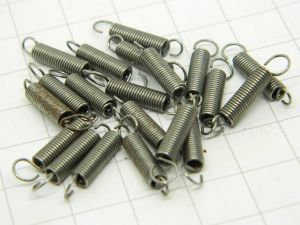 Molla a trazione acciaio armonico alta qualità mm. 12,5x3,5 (n.20 pezzi)