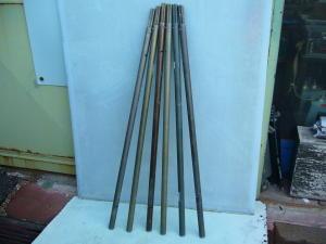 Aluminium antenna mast  mt. 7,20