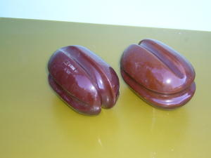 Ceramic Insulator pair mm. 140x80