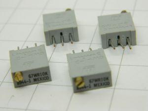 Trimmer multigiro 10Kohm verticale (n.4 pezzi)