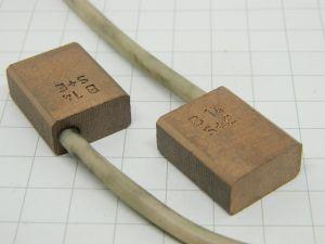 Spazzola carbonio grafite mm.20x10x25 (n.2 pezzi)
